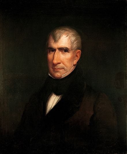 William Henry Harrison, the 1st Governor of Indiana Territory from 1801 to 1812, and the 9th President of the United States William Henry Harrison by James Reid Lambdin, 1835.jpg