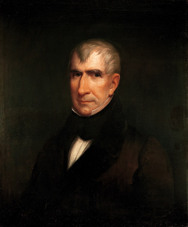 William Henry Harrison by James Reid Lambdin, 1835