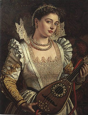 Bianca (Othello) - Painting by William Holman Hunt