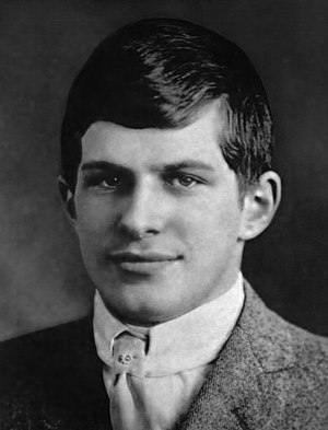 William James Sidis - William James Sidis at his Harvard graduation (1914)