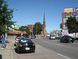 Wilson Street (Hamilton, Ontario) - Wilson at James Street looking East