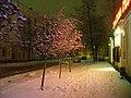 Winter night on Gogolya street-Зимняя ночь на улице Гоголя - panoramio.jpg