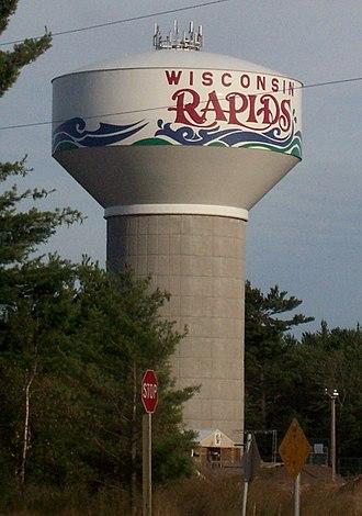 Wisconsin Rapids, Wisconsin - Water tower