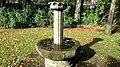 Wishing Well - Wunschbrunnen mit Sternzeichen Symbole on the top im Carlisle-Park Flensburg - Herbst 2012 - panoramio.jpg