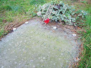 The grave of Ludwig Wittgenstein, at the Parish of the Ascension Burial Ground in Cambridge