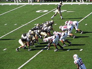 2007 Western Michigan Broncos football team - WMU with possession of the football vs. Ball State.