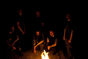 Wodensthrone - Image: Wodensthrone fire
