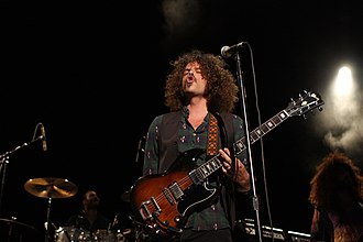 Victorious (Wolfmother album) - Frontman Andrew Stockdale wrote all of the songs on Victorious.