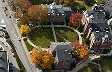 Woodburn Circle at West Virginia University