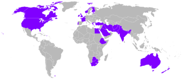 World operators of the Anson