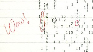 Wow! signal - Image: Wow signal