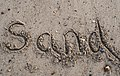 Writing in sand, by Mrs Logic.jpg