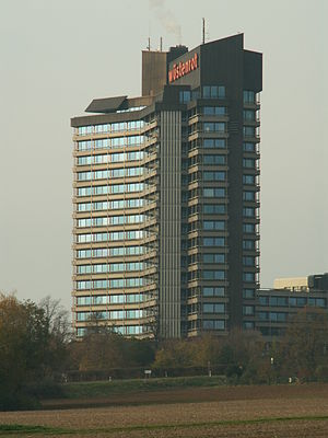Wüstenrot Tower - Wüstenrot Highrise Building