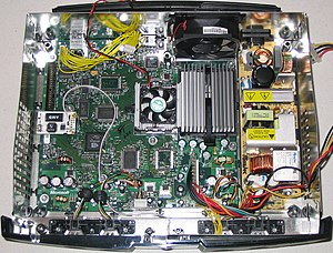 Xbox (revision 1.0) internal layout. Including...