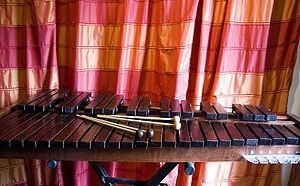 Xylophone - Xylophone with different types of mallets