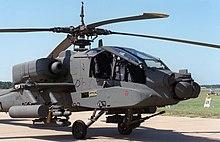 The Boeing AH-64 Apache