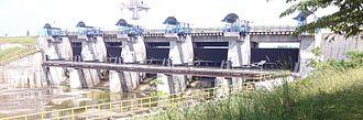 Yagachi River - Image: Yagachi Dam