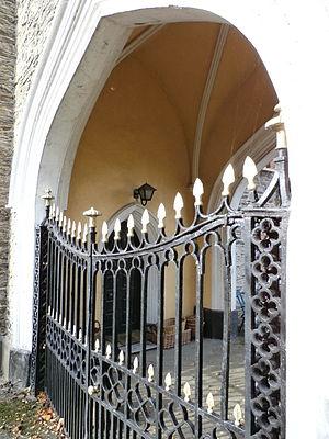 Yeotown, Goodleigh - Image: Yeotown Gatehouse Gates Ivy Lodge Goodleigh Devon