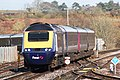 Yeovil Junction - fGWR 43161 diverted via Pen Mill.JPG
