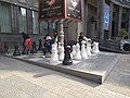Yerevan - Giant chess set at Charles Aznavour Square (2018).jpg