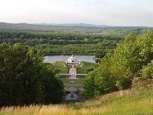 Yogaville - View of Yogaville