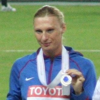 Yuliya Pechonkina - Pechonkina in Osaka 2007