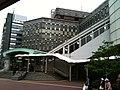 Yurikamome Shinbashi Station entrance, in front of Shimbashi Sta. Shiodome-entrance (2010-05-08 17.22.42).jpg
