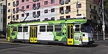 Z3 139 (Melbourne tram) in Swanston St, December 2013.JPG