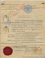 Zabel Yesayan First Republic of Armenia Passport.png