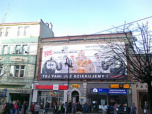 Polish local elections, 2010 - A partisan municipal election poster in Zabrze.