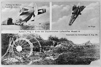 LZ 4 - Image: Zeppelin LZ4