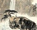 Zhangzi in front of waterfalls.jpg