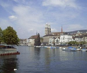 Grossmünster church Zürich