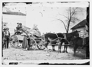 "Centreville, Virginia - Image: ""Departure from the old Homestead"""