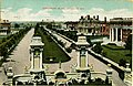 """""""Kingsbury Boulevard, St. Louis, MO."""" (View of Kingsbury Place from the entrance gates).jpg"""
