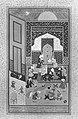 """Laila and Majnun in School"", Folio 129 from a Khamsa (Quintet) of Nizami MET 43908.jpg"