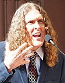 """Weird Al"" Yankovic at the Lin-Manuel Miranda Hollywood Walk of Fame ceremony (45212532085) (cropped).jpg"