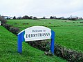 """Welcome to Derrytrasna"" - geograph.org.uk - 1591594.jpg"