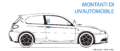 """ 15 - Italian language - Automobile body pillars - rear central and front struts - Alfa Romeo automobile line black and white drawings diagram - 147 GTA facing left.png"