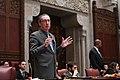 (02-05-19) NY State Senator James Gaughran during Senate Session at the NY State Capitol, Albany NY.jpg