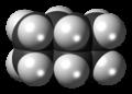 (3)-Ladderane molecule spacefill.png