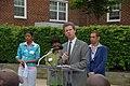 (Earth Day event promoting Washington, D.C. affordable housing-) Secretary Shaun Donovan joining Washington, D.C. Mayor Adrian Fenty, D.C. Delegate to Congress Eleanor Holmes Norton - DPLA - f8931e4e7ef3fa0e4c6e1d567298f80a.JPG