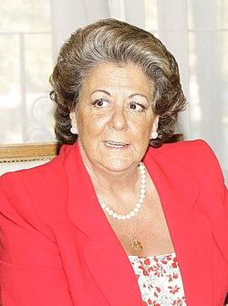 (Rita Barberá) Fernández de la Vega se reúne con la alcaldesa de Valencia. Pool Moncloa. 6 de octubre de 2008 (cropped).jpeg