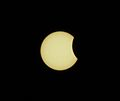 (Very) Partial Eclipse as seen from Honolulu (7239347958).jpg