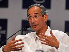 Álvaro Colom Caballeros - World Economic Forum on Latin America 2010.jpg