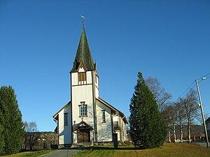 Ålen Church - Image: Ålen kyrkje 01