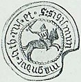 Žygimont Kiejstutavič, Pahonia. Жыгімонт Кейстутавіч, Пагоня (1432, 1930).jpg
