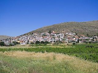 Ziros, Lasithi human settlement in Greece