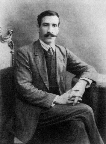 А.Грин в Петербурге. Фото 1910г.
