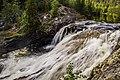 """Водопад на реке Кутсайоке - """"Малый Янискенгас"""", его высота около 10м.jpg"""